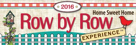 2016 Row by Row Experience logo: Home Sweet Home