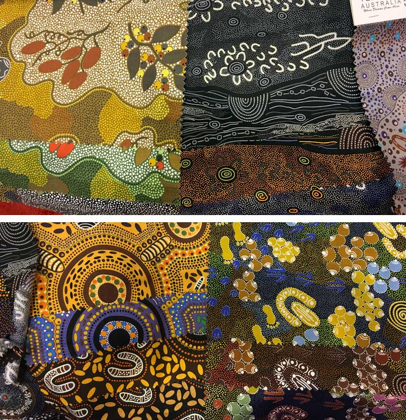 More new designs of Australian fabrics on the way to Artistic Artifacts from M&S Textiles