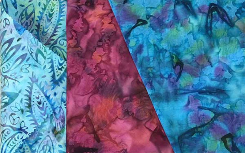 New colors coming of established Batik Tambal Exclusive Batik