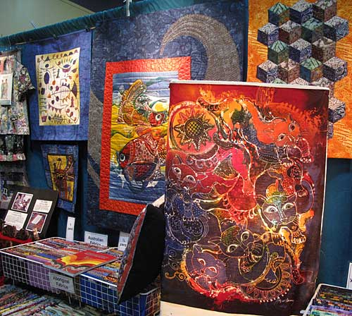 The Artistic Artifacts/Batik Tambal booth