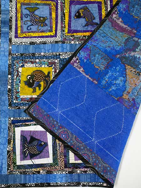 Adding an additional row to the 2015 Row by Row Experience quilt by Judy Gula