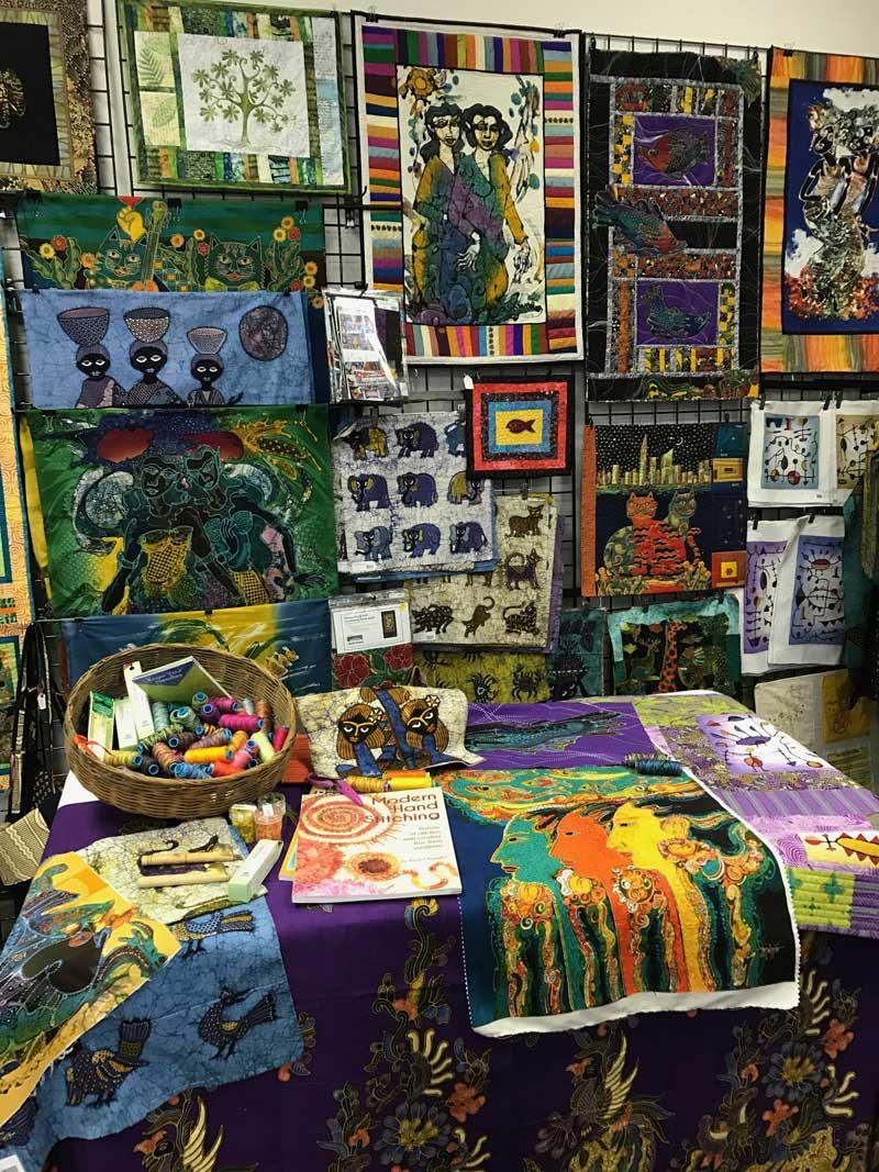 Batik art panels at Artistic Artifacts