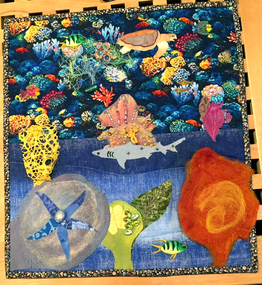 Beth Richardson Coral Reef quilt