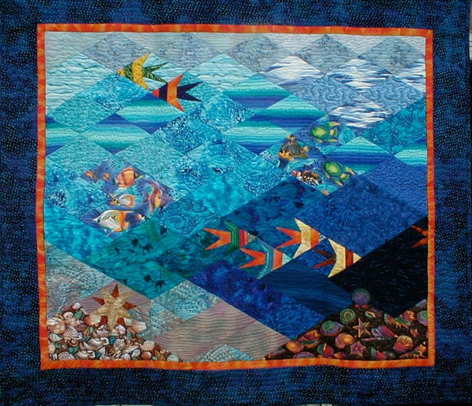 Bunnie Jordan fish quilt