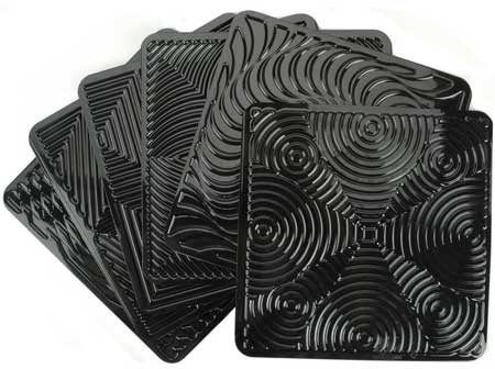 Op Art Rubbing Plates sold by Artistic Artifacts