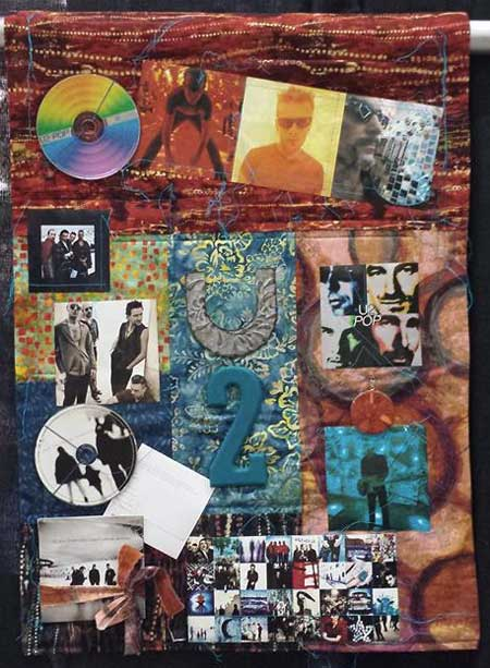 U2 4ever by Catherine Etter displayed at MAQF
