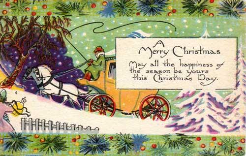vintage Christmas ephemera from Judy Gula's collection