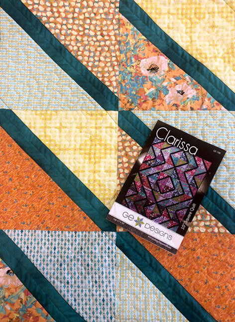 The Clarissa quilt pattern by GE Designs