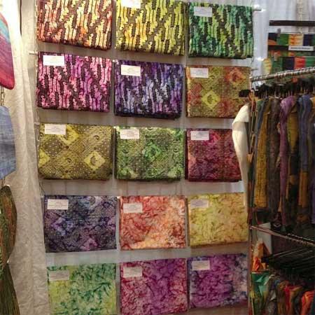 Artistic Artifacts/Batik Tambal is the exclusive North American distributor of Combanasi batik fabric