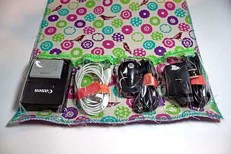 Charger/Cord Organizer by Liz Kettle