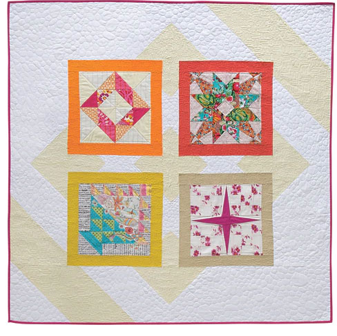 Cozy, a quilt project included in FreeSpirit Block Party