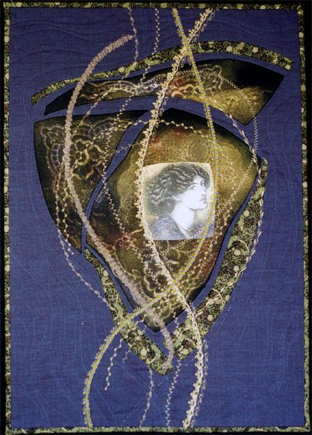 Diane Herbort's art quilt Reverie