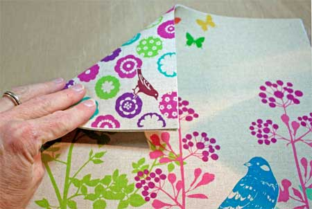fabric fused on both sides