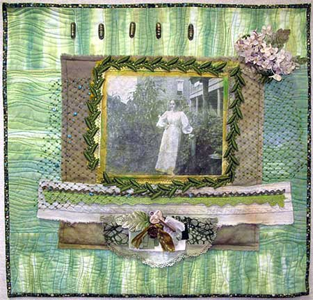 Art Quilt by Judy Gula