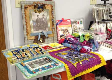Judy Gula art quilts and Artistic Artifacts products at the Friendship Quilters' Guild of Hagerstown, MD