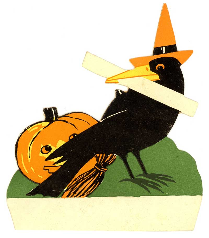 Vintage Halloween Placecard from Judy Gula of Artistic Artifacts