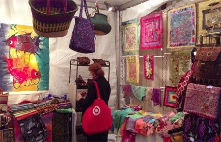The Artistic Artifacts booth, #21 from December 1-3, for the 2014 Downtown Holiday Market