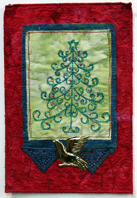 Holiday Tree Quilt by Judy Gula