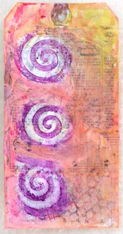 Gelatos tag created by Judy Albert