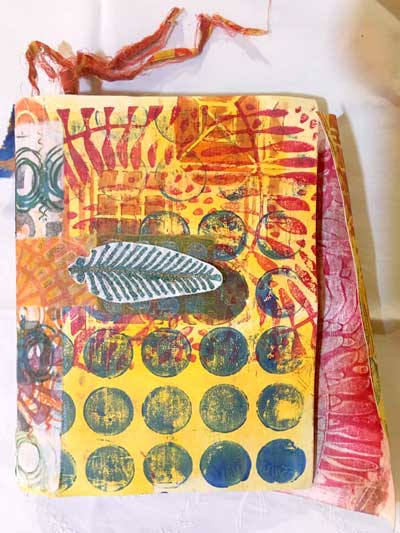 Judy Gula of Artistic Artifacts used Kraft-Tex for her journal cover