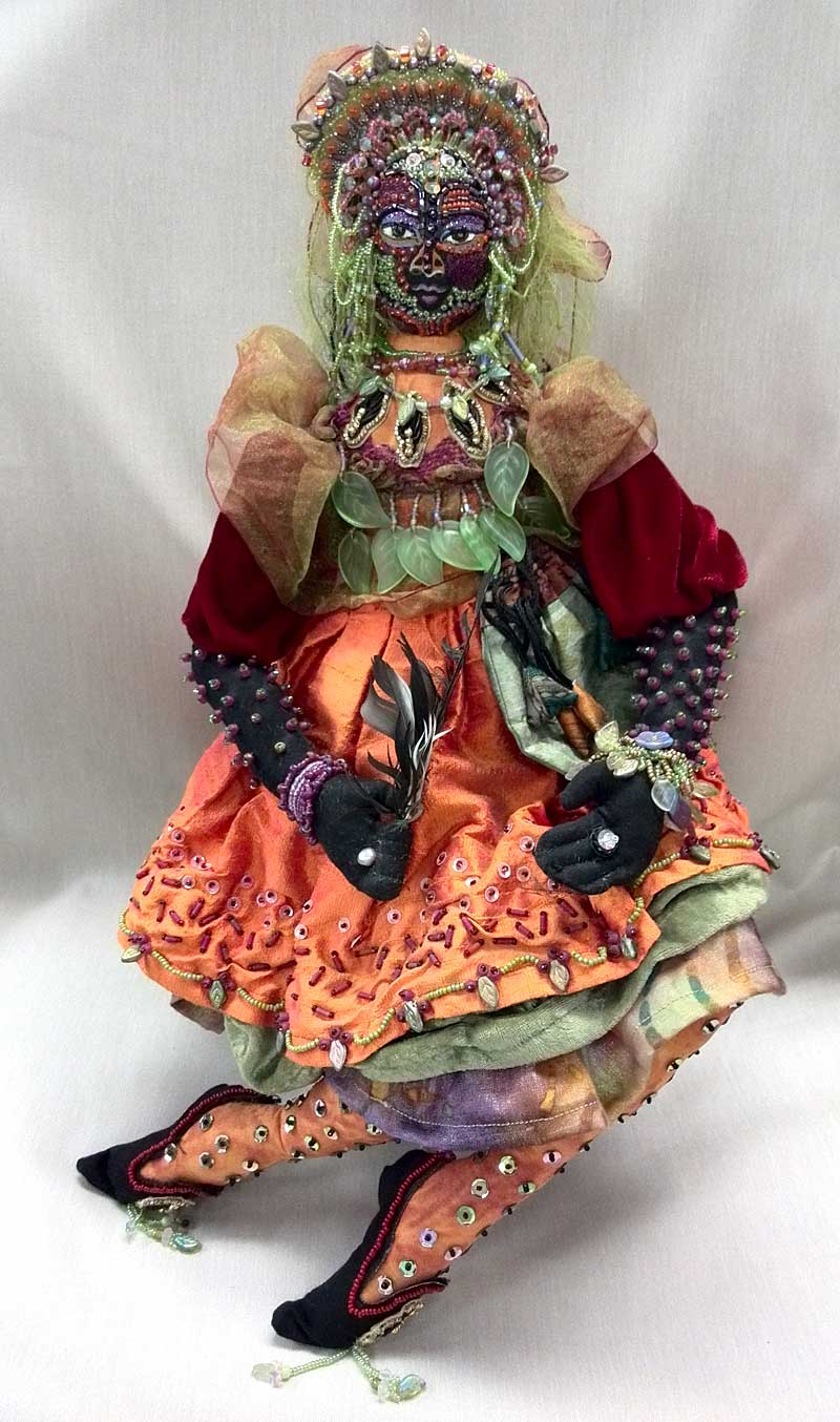 Art doll by Kathlyn J. Aviles