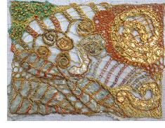 Machine stitching/embroidery by Liz Kettle