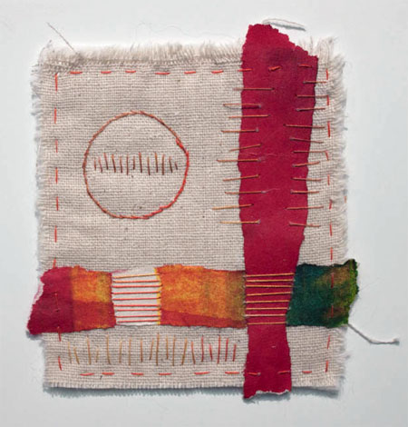 Stitch Meditation by Liz Kettle of Textile Evolution