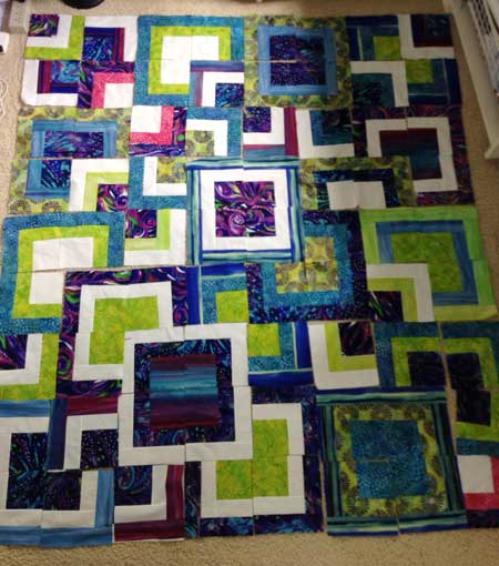 Designing the Modern Quilts Squares layout