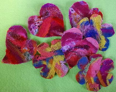 Try out the Artistic Artifacts' needlefelting machine onSaturday, February 15