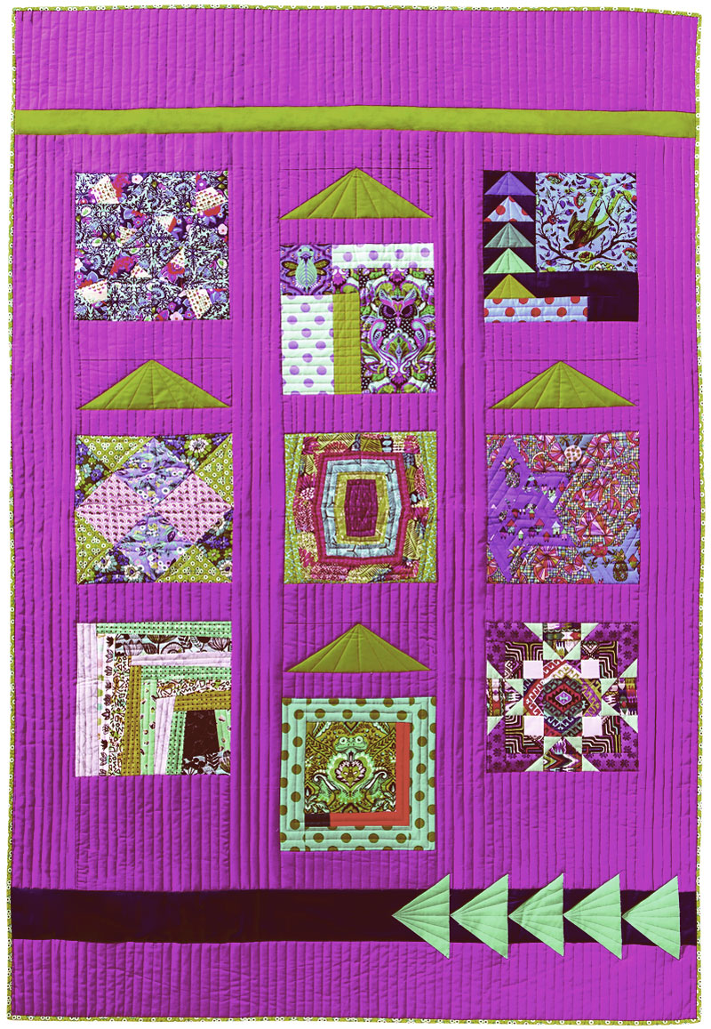 Neighbors, a sampler project included in FreeSpirit Block Party.