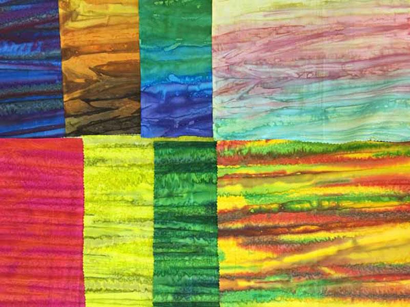 New fabrics in the Woodstock design, Batik Tambal Exclusive Batik