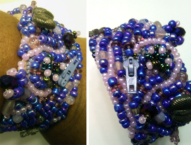 Beaded cuff by NiYa Costley