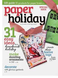 Paper Holiday from Cloth Paper Scissors