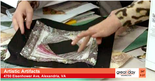 Click to watch Cyndi Souder of Moonlighting Quilts demonstrate paper piecing