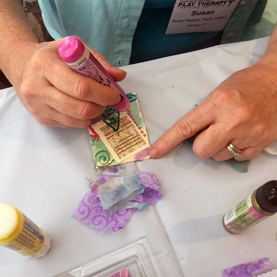 Making ATCs at the Play Therapy Training Institute conference