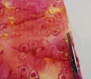 Woven fabric, Step 2
