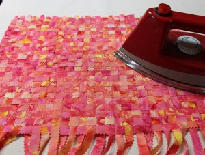 Woven fabric, Step 8