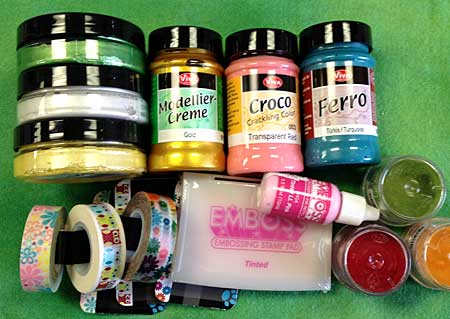 Products used to color and alter chipboard