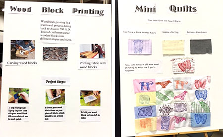 Instructions and illustrations created by Celia Middleton for her Fun with Fabric project