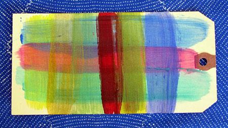 When layered, Silks Acrylic Glazes colors remain true, never muddy
