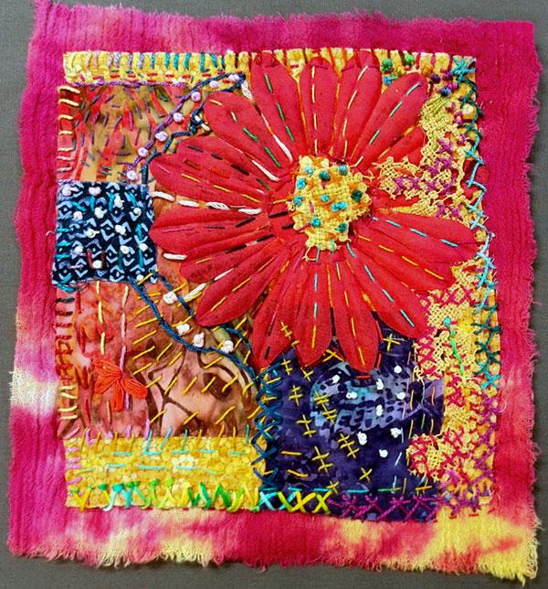 Stitch Meditation by Suzanne Langsdorf