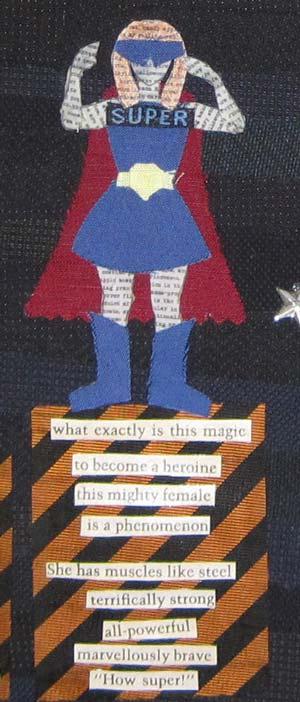 Detail, Sharon McDonagh quilt