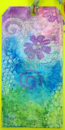 Gelatos tag created by Sharon McDonagh