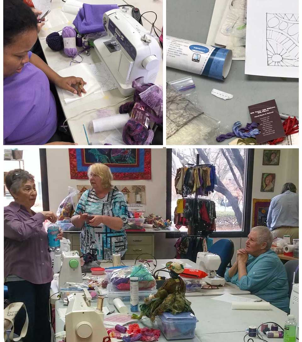 Magical Stitching class with Liz Kettle at Artistic Artifacts