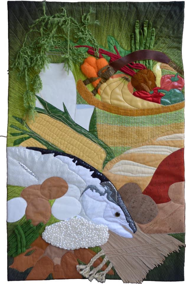 Susanne Miller Jones fish quilt