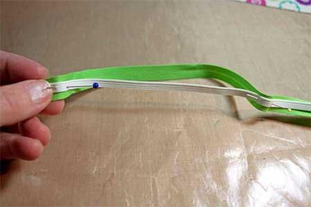 fused seam tape with elastic