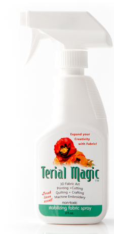 Terial Magic fabric stabilizing spray