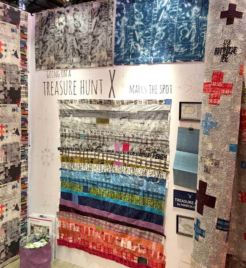 Marcia Derse Treasure Hunt fabric line