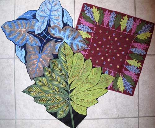 Trio of vintage handkerchiefs