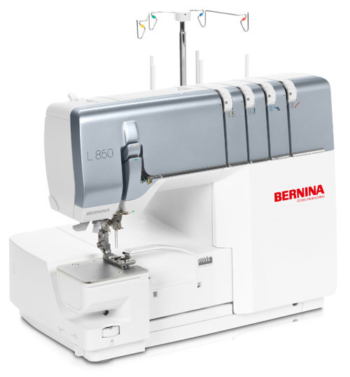 The BERNINA L 850 machine is an ultimate overlocker!
